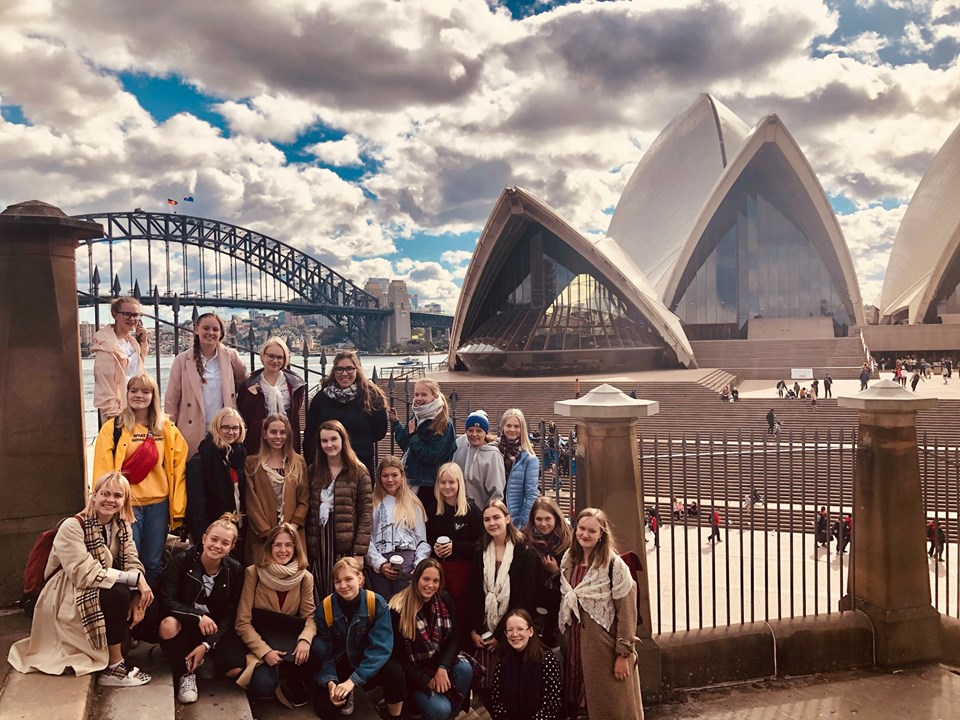 ETV Tütarlastekooriga koorimuusikasuvi kontsertturneega Austraalias