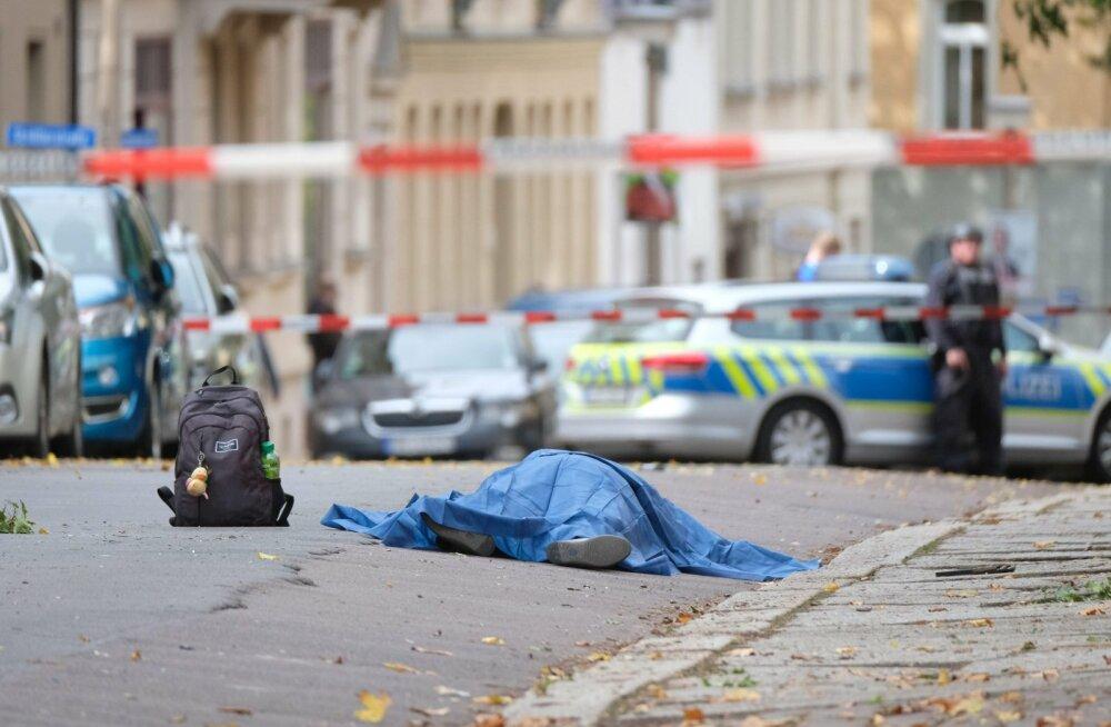 Saksamaal Halles hukkus tulistamises sünagoogi ees vähemalt kaks inimest DELFI