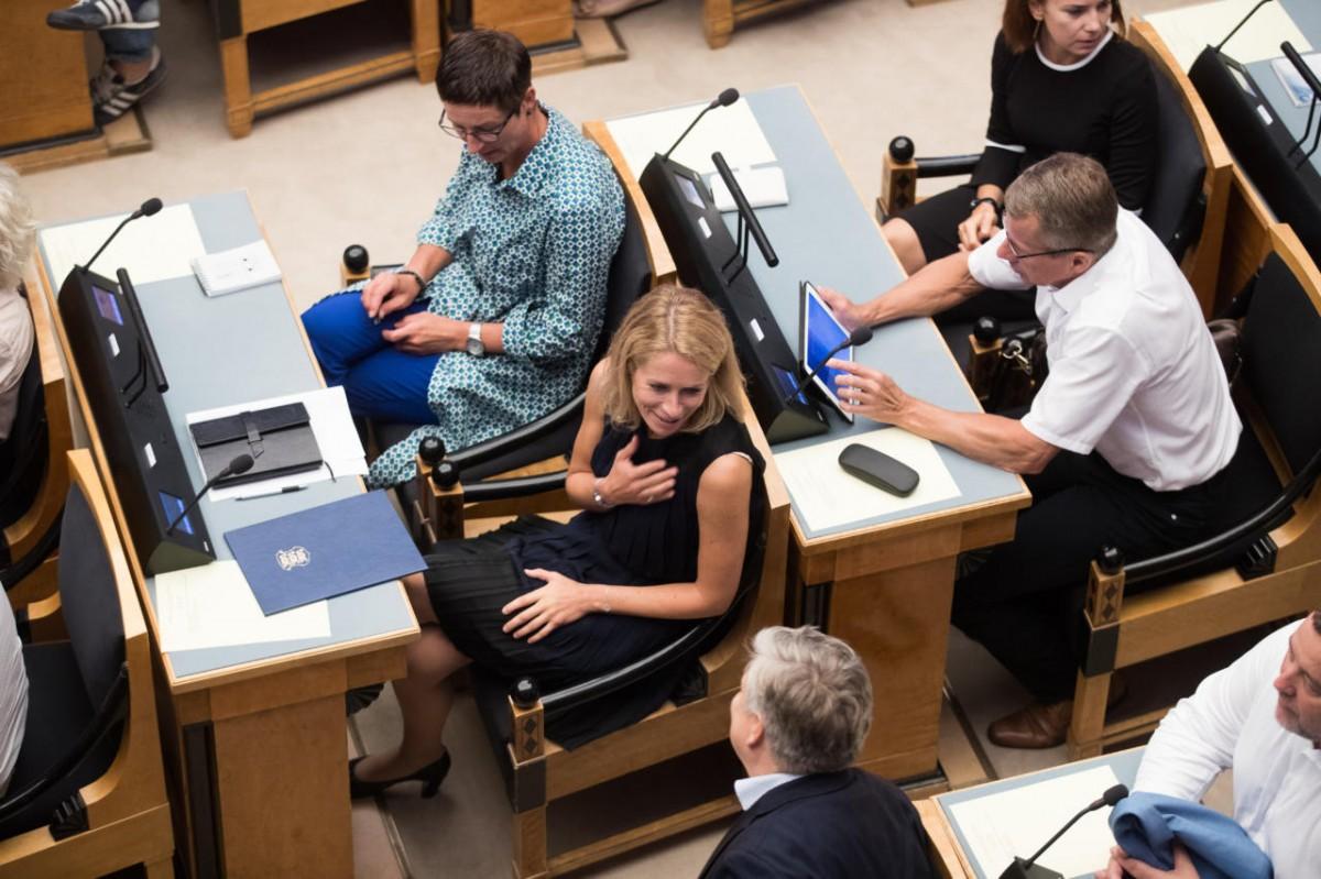 """EESTI Reformierakonna """"vana kaardivägi"""" hääletas Riigikogus eesti keele elujõu eelnõu vastu UU"""