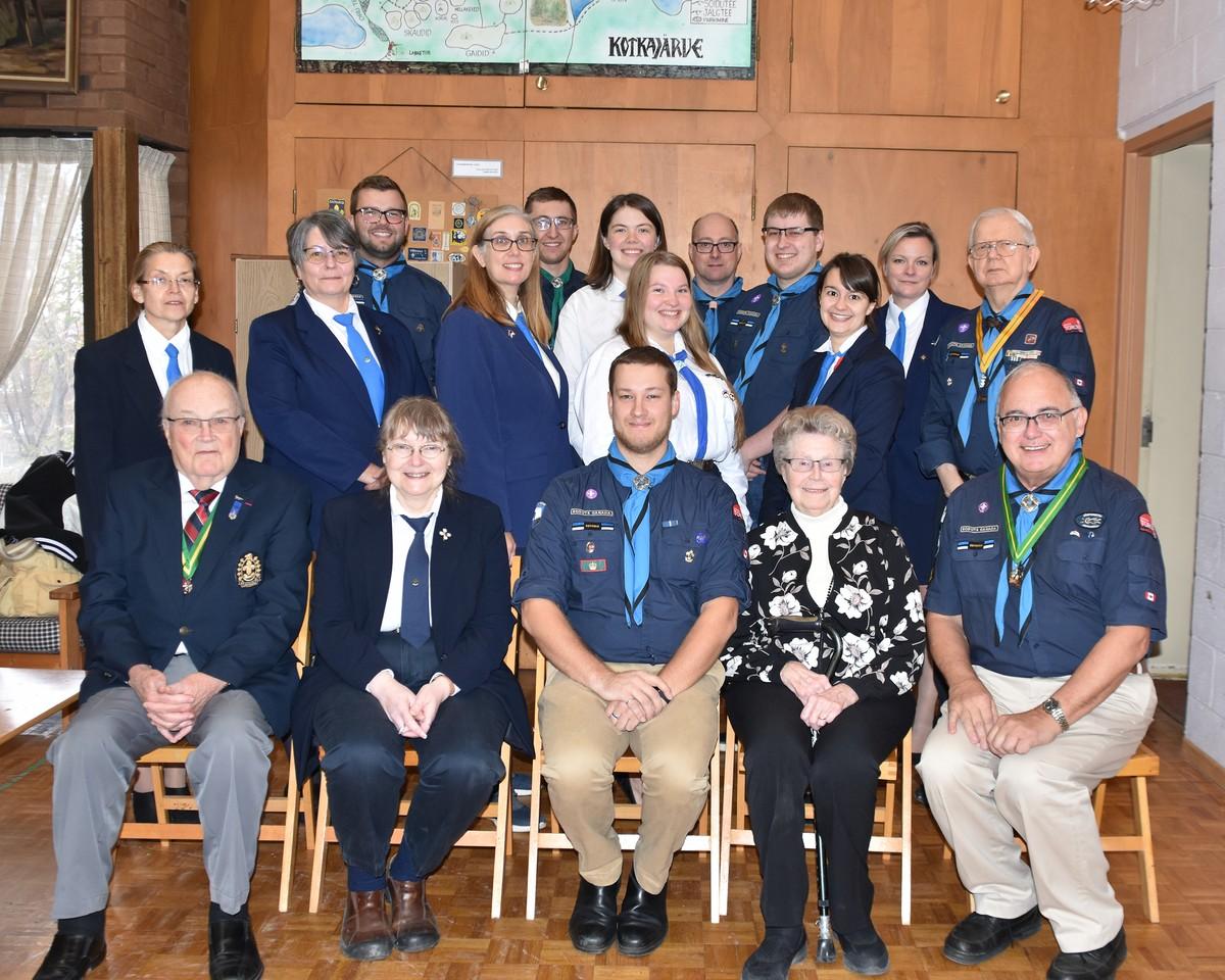 Eesti Skautide ja Gaidide Malev Kanadas aastakoosolek