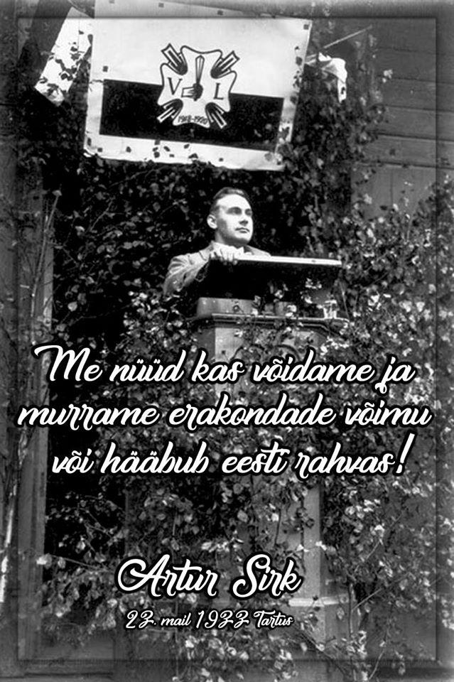 Artur Sirk - Ajaloost