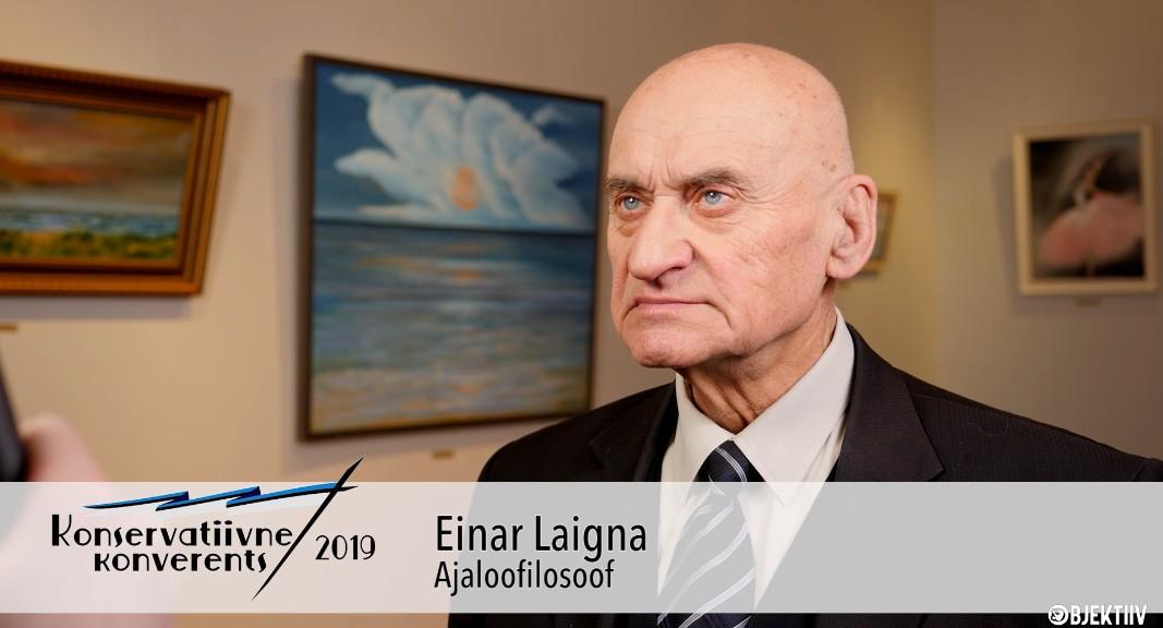 Einar Laigna: alles jäävad need, kes elavad Jumala seaduste kohaselt Objektiiv