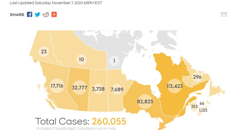 Tracking Every Case Of Covid 19 In Canada Ctv Estonian World Review